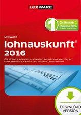 Lexware Lohnauskunft 2016 Netzwerkversion (ESD)