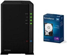 Synology DS216play 2-Bay 4TB