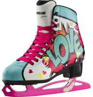 Powerslide Pop Art Ice Skates Kiss