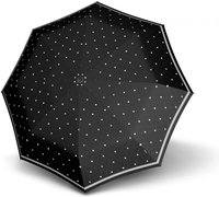 Knirps T200 Duomatic dots black