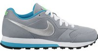 Nike MD Runner 2 GS wolf grey/metallic silver/blue lagoon