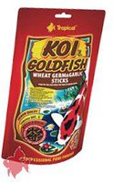 Tropical Koi & Goldfish Wheat Germ & Garlic Sticks (120 g)