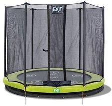 Exit Trampolin Twist Ground 305 cm mit Sicherheitsnetz rosa/grau