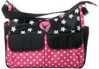 Osann Wickeltasche Vegas Pink Star