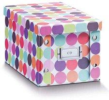Zeller CD-Box  16,5 x28 x15cm Dots (17890)