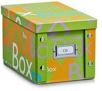 Zeller CD-Box  16,5 x28 x15cm Box grün (17675)