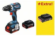 Bosch GSR 18 V-EC Professional 2 x 4.0 + 1 x 2,0 Ah + L-Boxx (0 615 990 H8K)