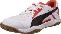 Puma Veloz Indoor II white/black/puma red