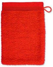 Möve Superwuschel Waschhandschuh red orange (15x20cm)