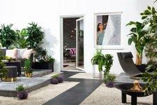 Hecht international Pollenschutzvlies für Fenster weiß (130 x 150 cm)