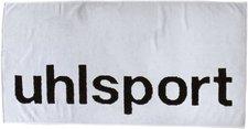 Uhlsport Badetuch weiß/schwarz (70x140cm)