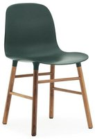 Normann Shop Form Chair green/walnut