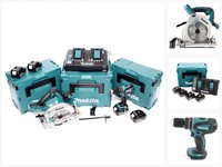 Makita DLX2084PMJ Combo-Kit