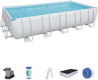 Bestway Frame Pool Power Steel 671 x 132 x 366 cm mit Filterpumpe (56470)