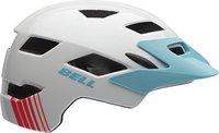 Bell Helmets Sidetrack Helm weiß-blau