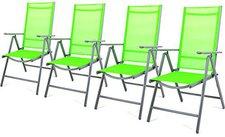 Dilego Klappstuhl Aluminium grün 4er Set (ZGC34448_SL04)