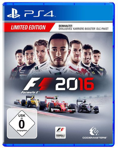F1 2016:  Limited Edition (PS4)