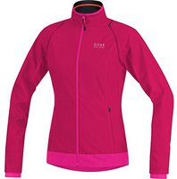Gore Element Windstopper Active Shell Zip-Off Lady Jacke jazzy pink / magenta