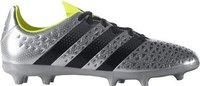 Adidas Ace 16.3 FG Men silver metallic/core black/solar yellow