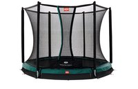 Berg Toys Trampolin InGround Talent 240 cm mit Sicherheitsnetz Comfort