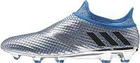 Adidas Messi 16+ Pureagility FG Men silver metallic/core black/shock blue