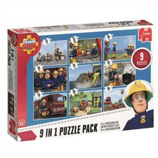 Jumbo Feuerwehrmann Sam 9-in-1