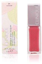 Clinique Pop Lacquer Lip Colour + Primer Nr. 01 - Cocoa Pop (6,5ml)