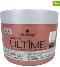 Schwarzkopf Essence Ultime Bernstein + Öl Anti-Haarbruch Haarkur (200ml)