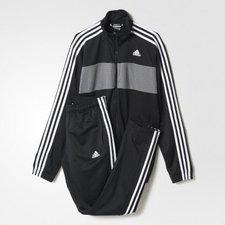Adidas Riberio Trainingsanzug schwarz/grau