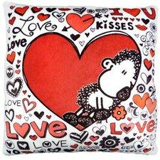 sheepworld Love allover Plüschkissen