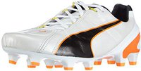 Puma King II EF+ FG white/black/fluo flash orange