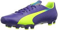 Puma evoSPEED 5.3 FG prism violet/fluro yellow/scuba blue