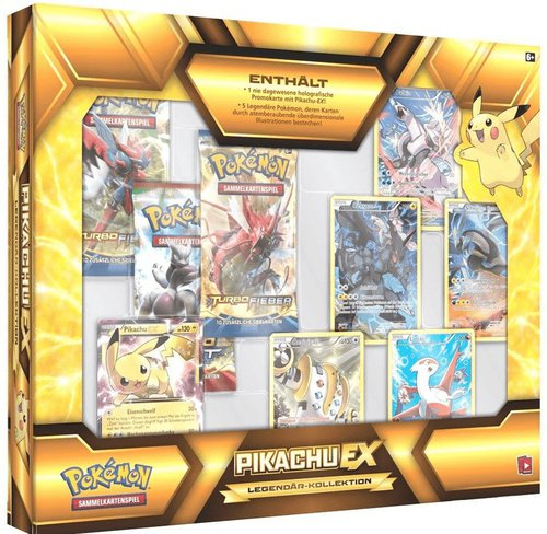 Pokemon Legendär Kollektion EX-Box, sortiert