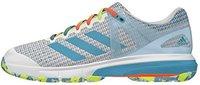 Adidas Court Stabil 13 ftwr white/vapour blue/solar yellow