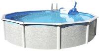Pool Friends Pool Set Grande rund 640 x 135 cm mit Sandfilter