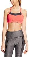 Puma Training Damen PWRSHAPE Cardio Sport-BH fluro peach