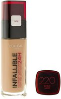 Loreal Infallible 24h Stay Fresh Foundation 220 Sable Sand (30ml)