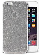 Puro Glitter Shine Cover silber (iPhone 6/6S)