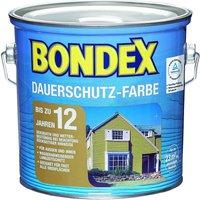 Bondex Dauerschutz-Farbe Schneeweiß 3,00 l