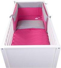 Childhome Nestchen Bett Kopfschutz 35x170 Jersey Pearl Grey (CCBPJPG)