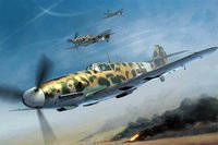 Trumpeter Messerschmitt BF 109G-2-Trop