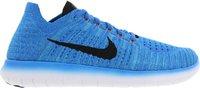 Nike Free RN Flyknit Men photo blue/gamma blue/total orange/black