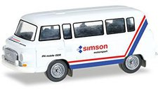 Herpa Barkas B 1000 Bus Simson Motorsport (066457)