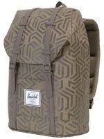 Herschel Retreat Backpack metric black rubber
