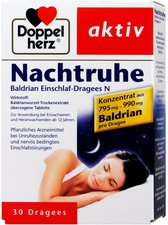 Doppelherz Nachtruhe Baldrian Einschlaf Dragees N (30 Stk.)