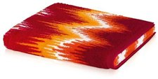 Möve Ikat  Frottierwäsche  Digitaldruck rot (30x50cm)