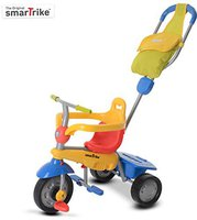 Smart Trike Breeze GL Touch Steering 3 in 1 rot/gelb/blau