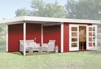 weka Holzbau Designhaus 126 B Gr.1 natur (645 x 240 cm)