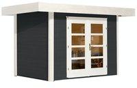 weka Holzbau Designhaus 126 Gr.1 anthrazit (295 x 210 cm)