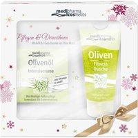 Medipharma Olivenöl Intensivcreme (50ml) + Fitness Dusche Set (50ml)